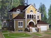 Проектирование коттеджей,  домов и производственных зданий