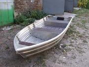 Новая Алюминиевая лодка.
