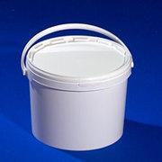 Ведро круглое 11, 3 литра полипропиленовое